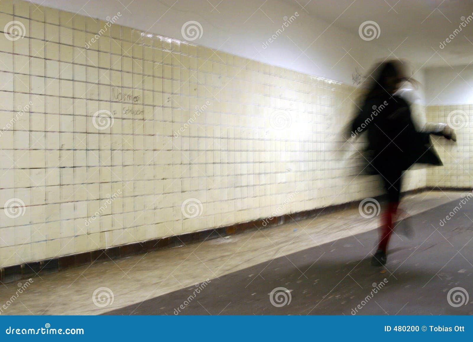 Runnign γυναίκα