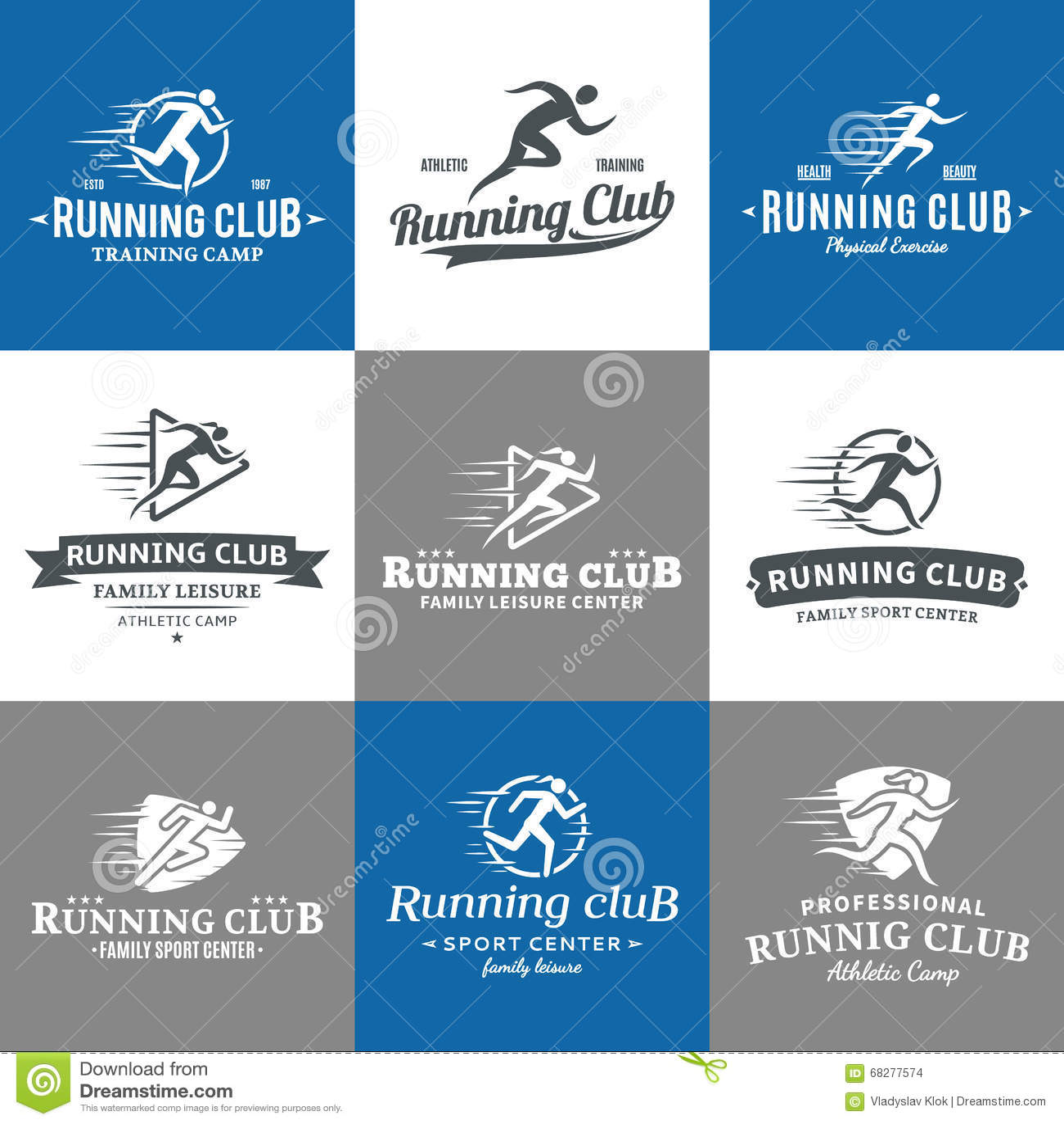 Sport Running Man Logo Stock Photos  Download 645 Royalty
