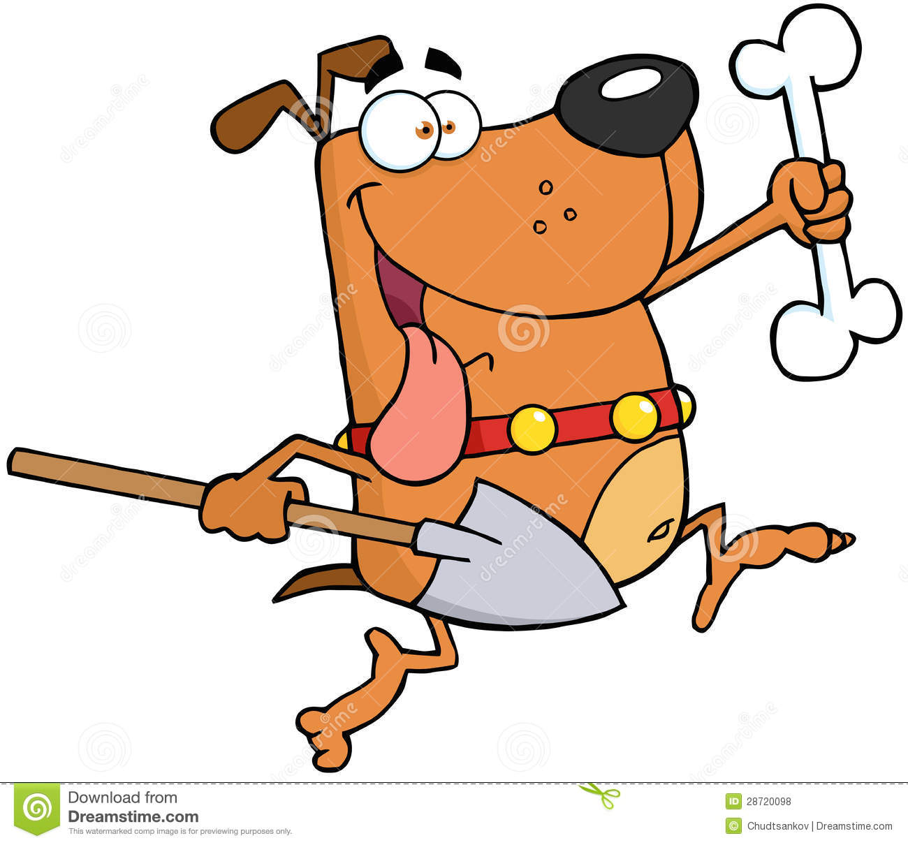 Cartoon Dog Running Pictures