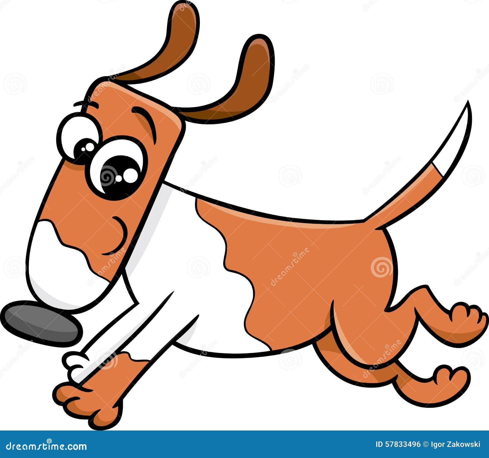 A Cartoon Character Dog : Puppy dog cartoon character vector cartoondealer