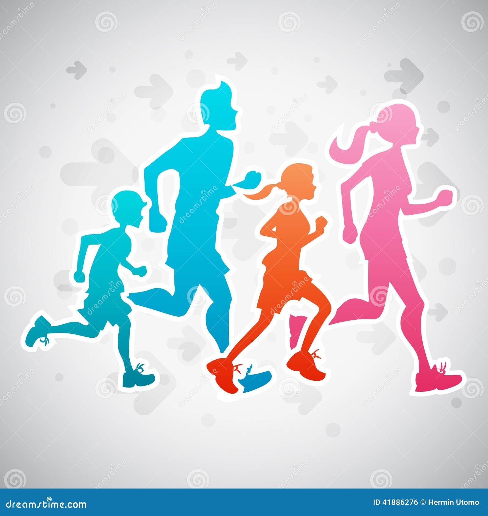 family running clipart - photo #10