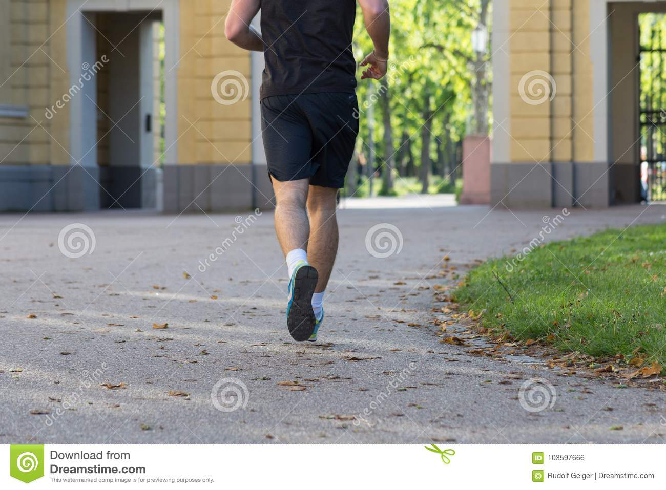 Running Free In Germanys Outdoor >> Running Fitness Stock Photo Image Of Young Lifestyle 103597666