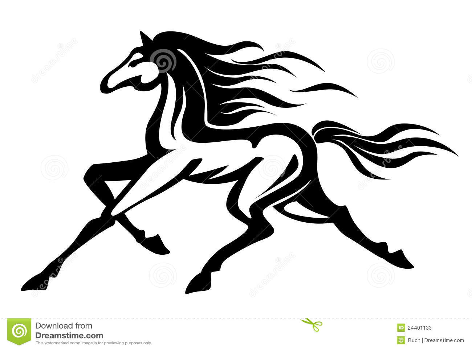 Running Horse Stock Photos - Image: 24401133 - photo#18