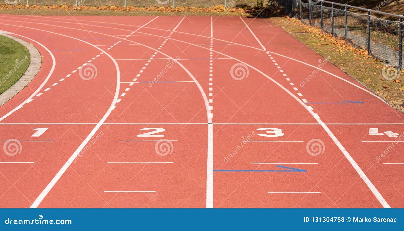Running Lignes athlétisme stade sport