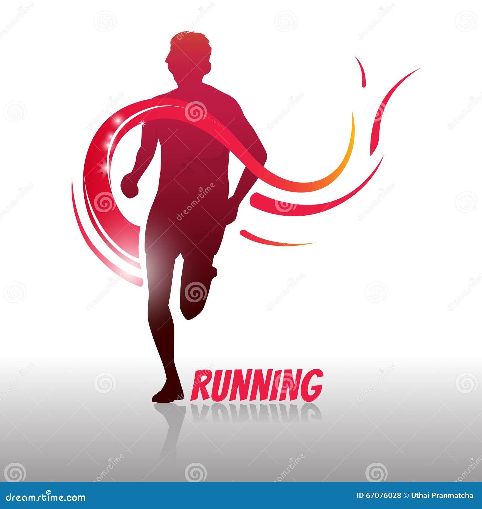 Running Man Logo And Symbol Stock Vector Image 67076028