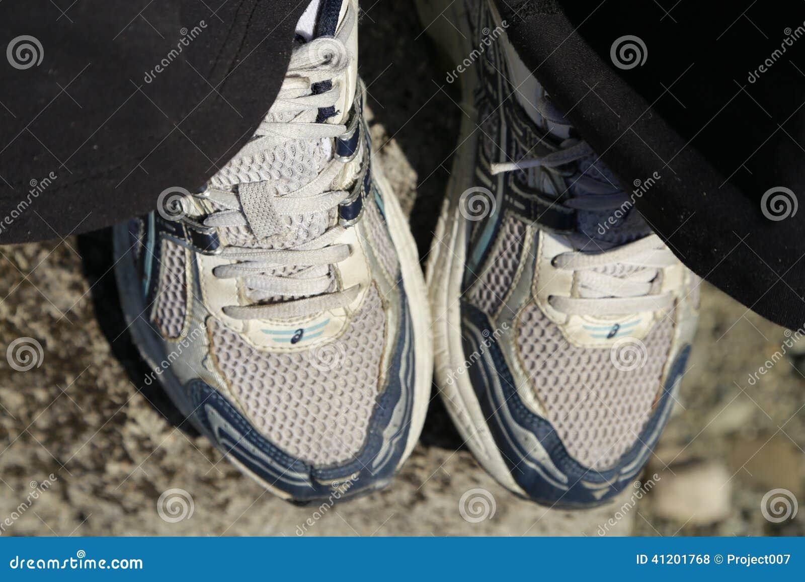 Running shoe fitness concept