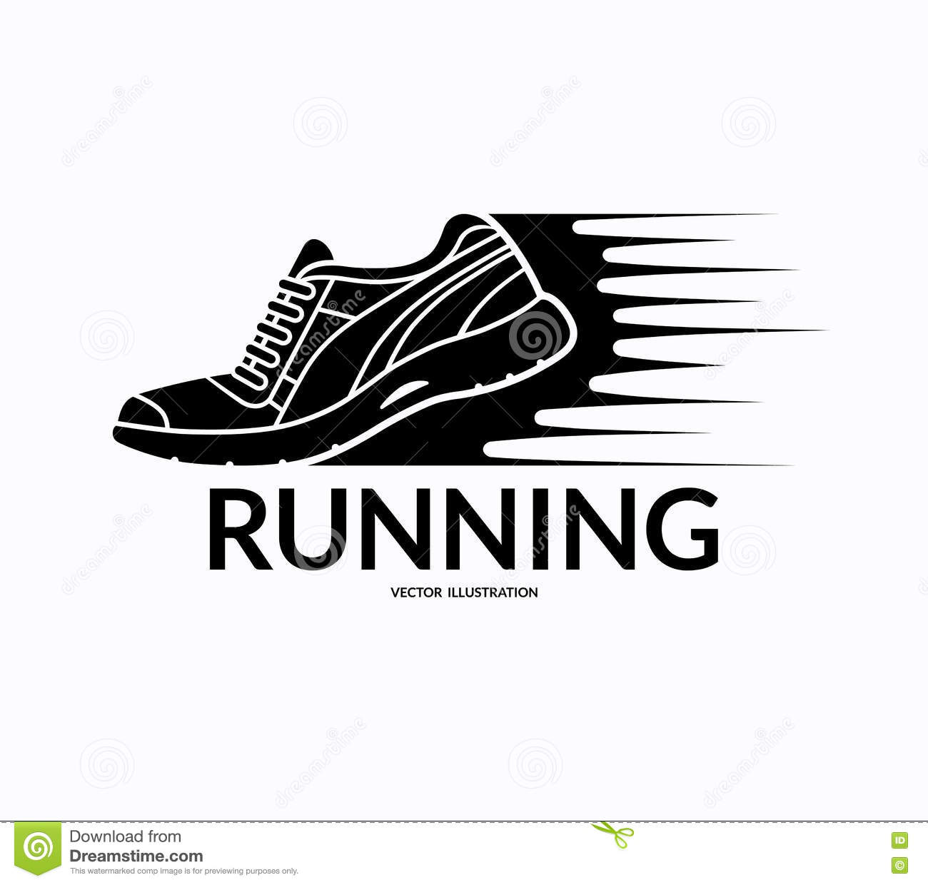 Graphic Design Running Shoes