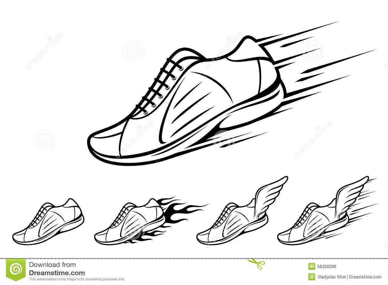 Foot Tattoo Running Shoes