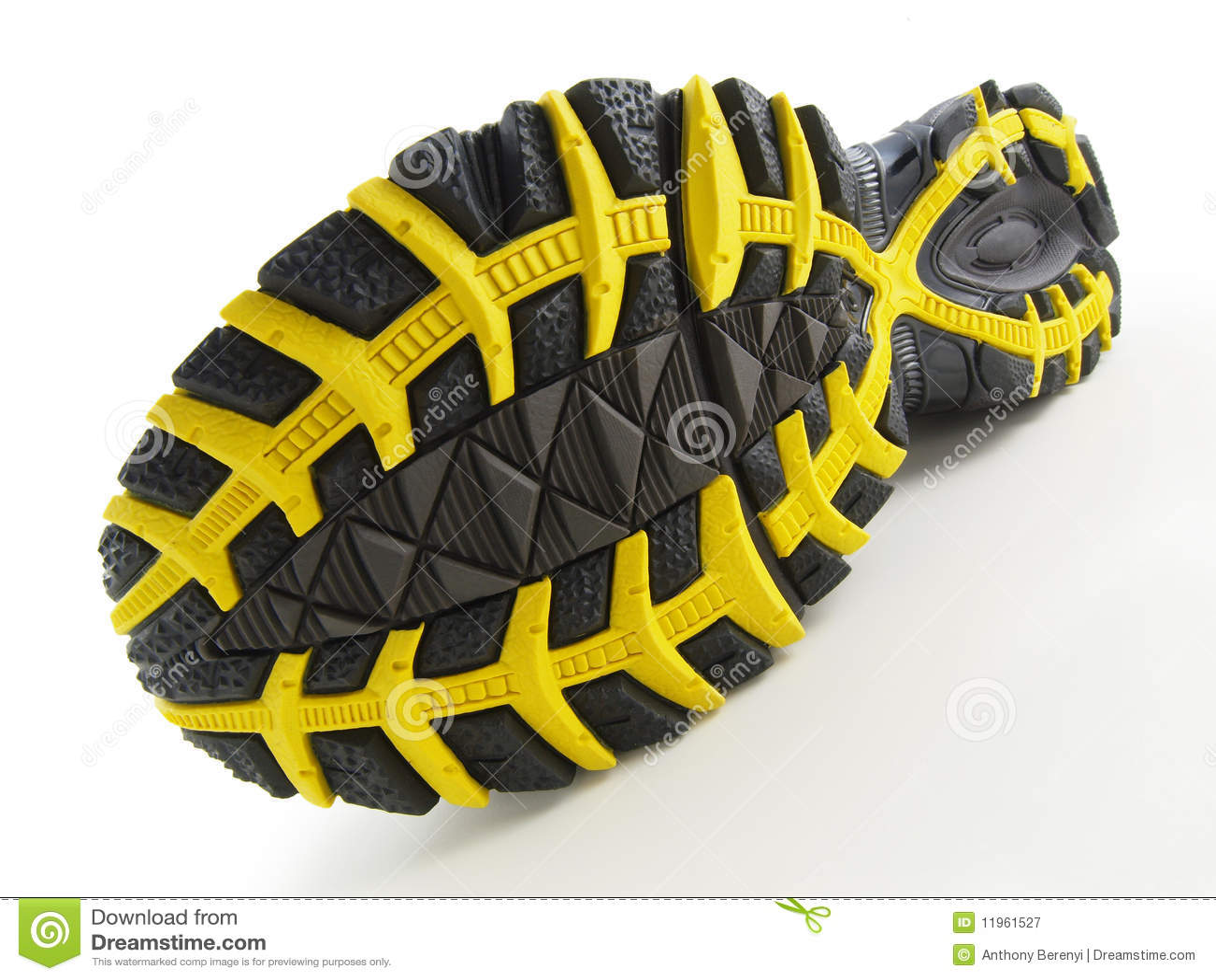 Running Shoe Tread