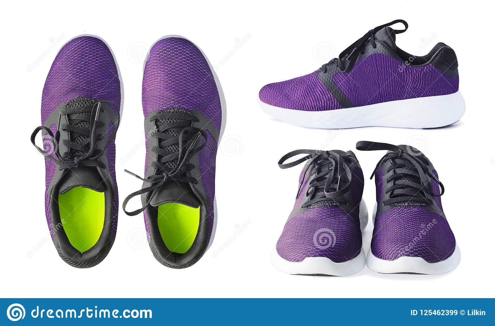 Purple Tennis Shoes Photos - Free
