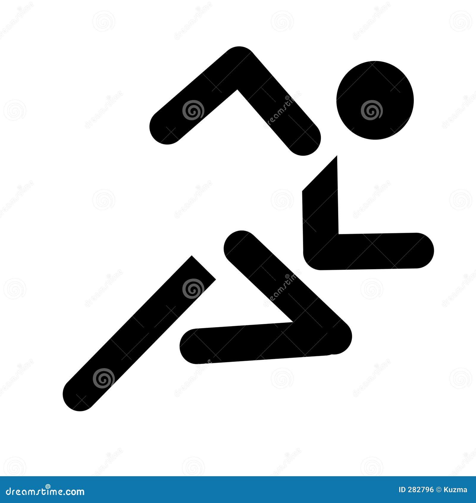 Running sportsymbol