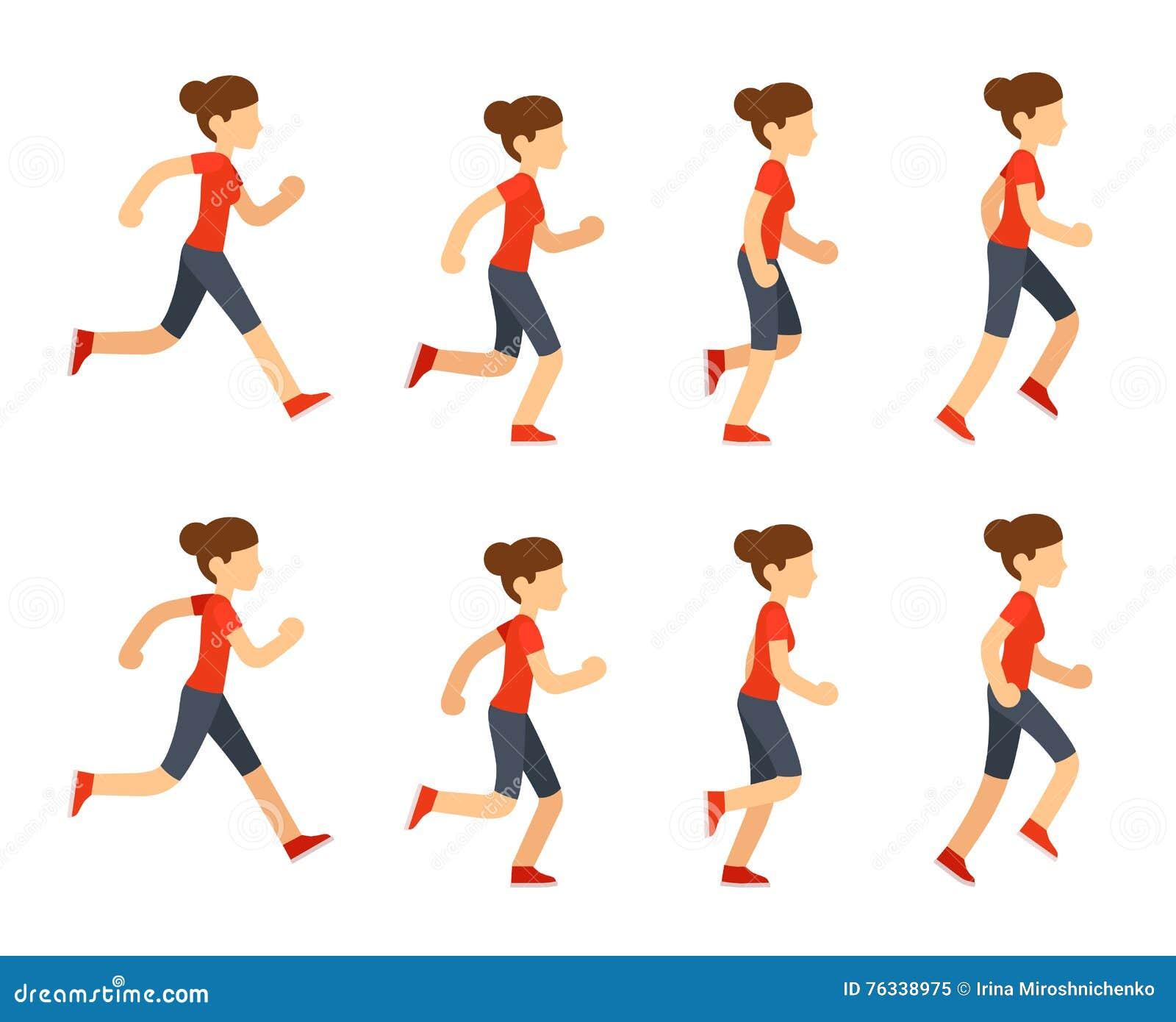 Running Man Animation Frames - More information