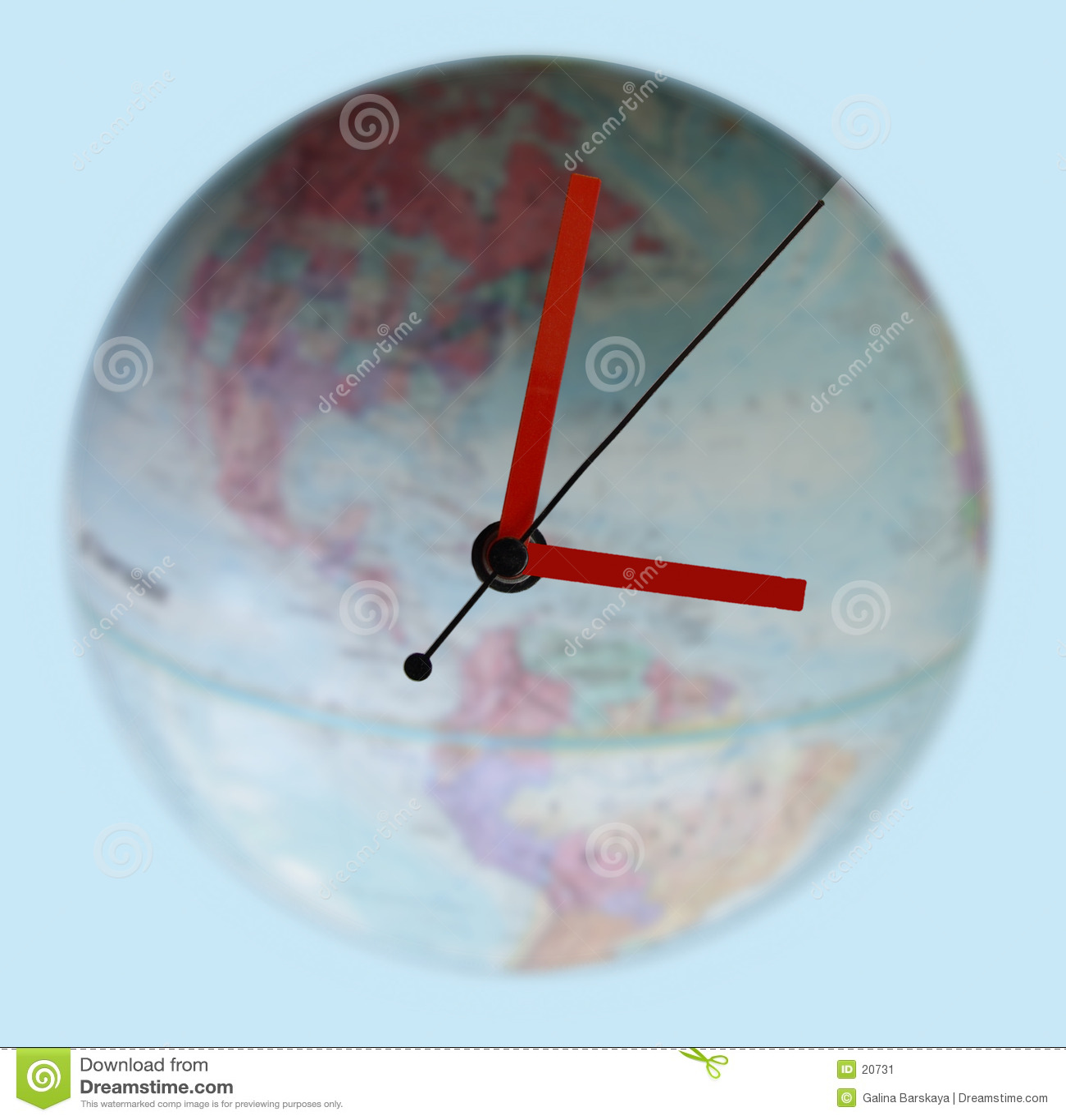 Runt om klockan