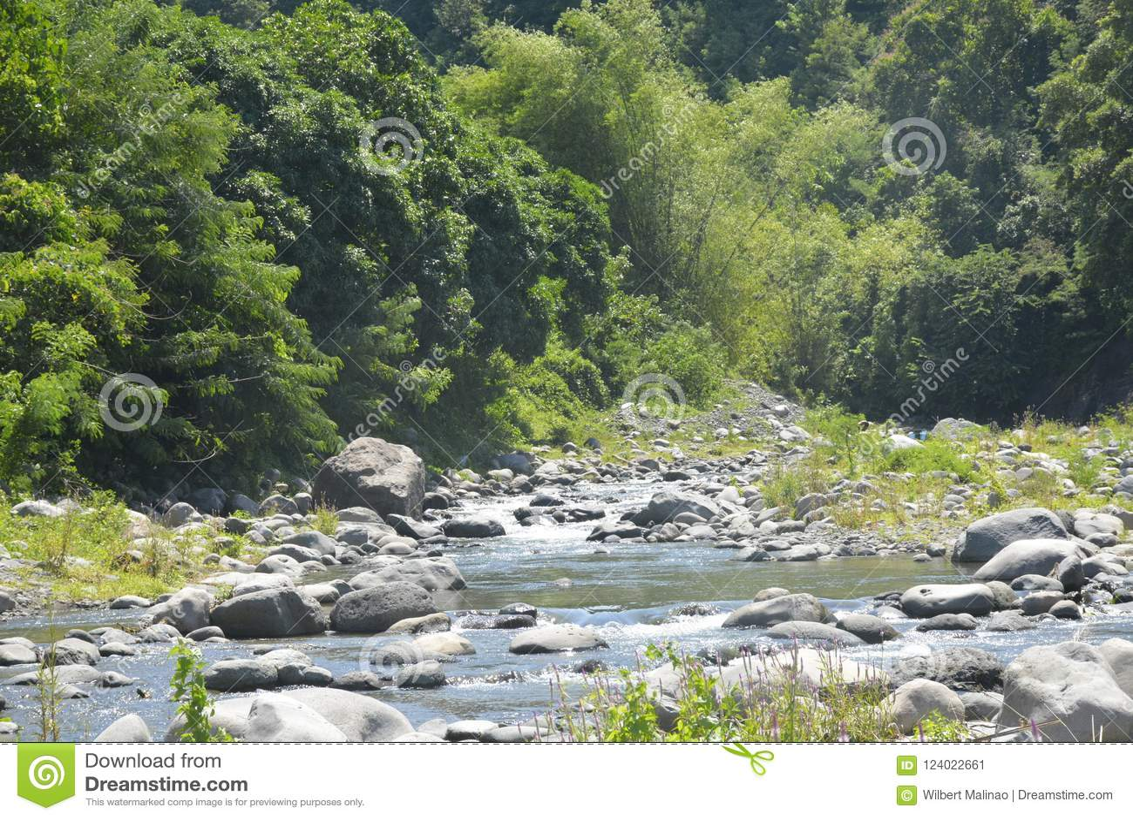 Ruparan河床位于barangay Ruparan, Digos市,南达沃省,菲律宾