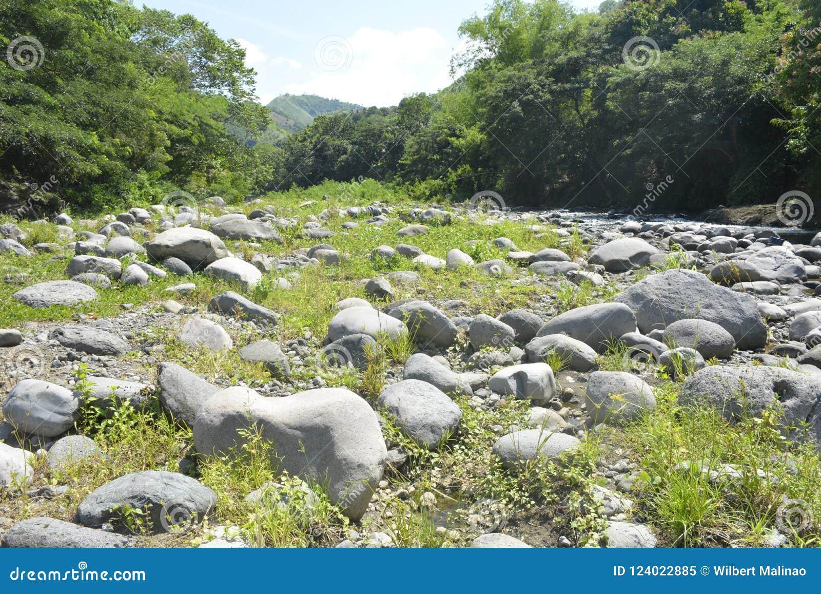 Ruparan riverbed lokalizować przy barangay Ruparan, Digos miasto, Davao Del Sura, Filipiny