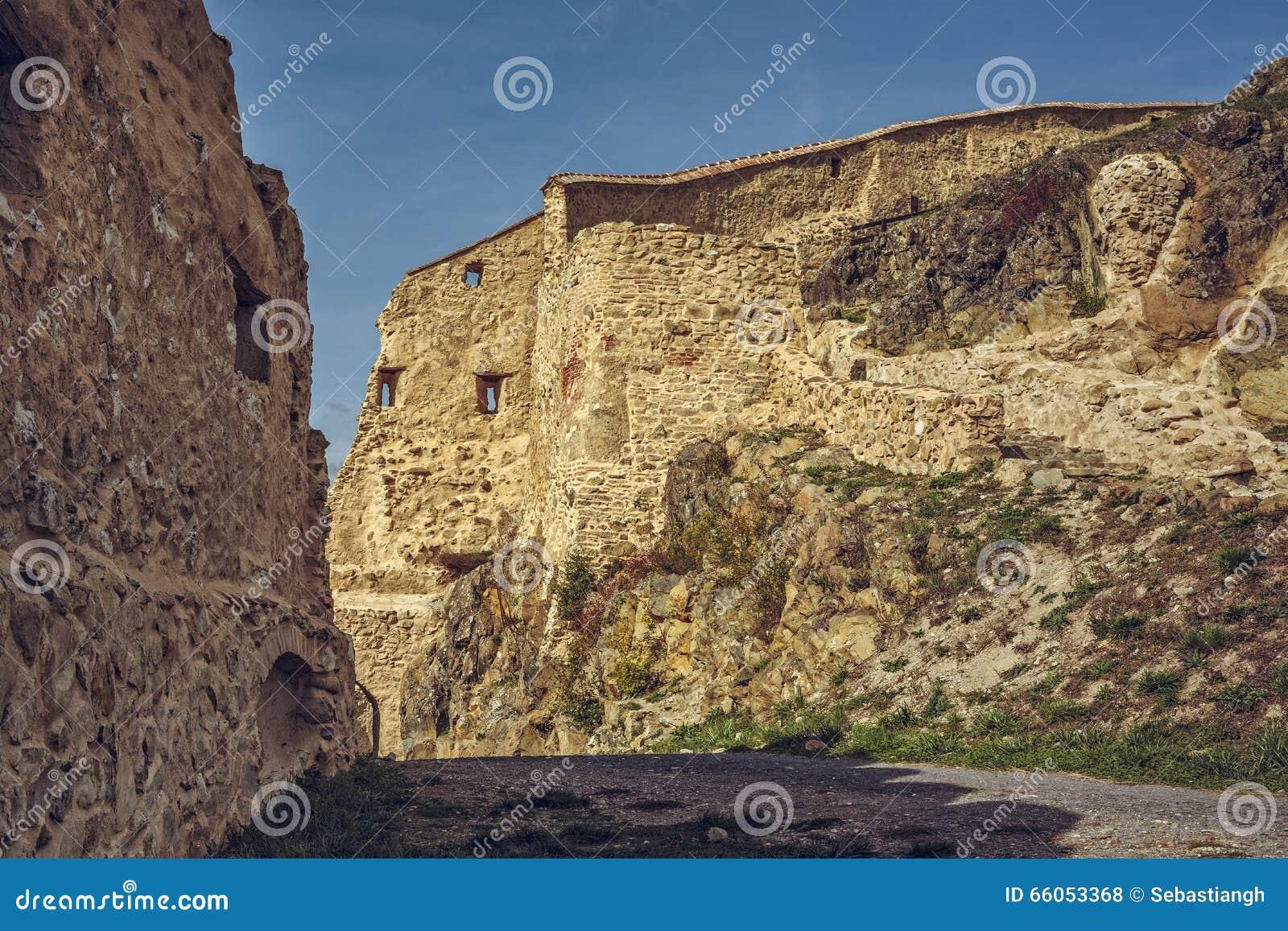Rupea cytadele fortyfikować ściany