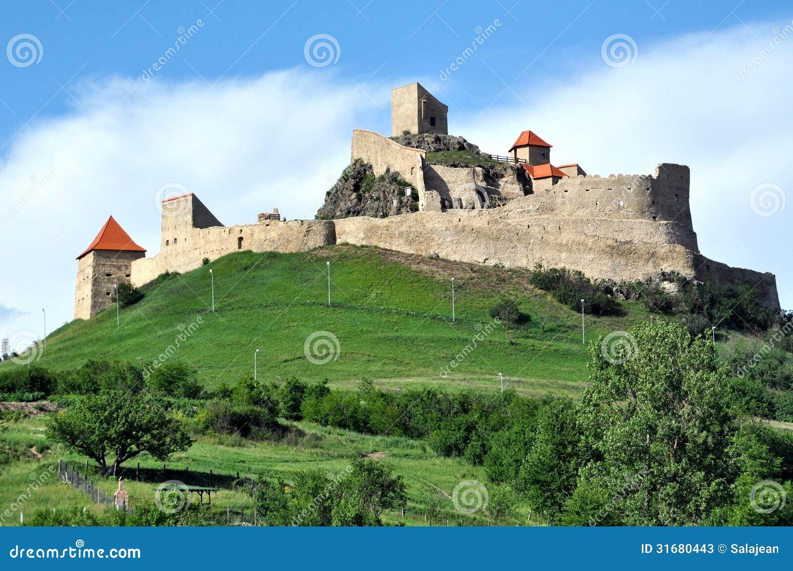 Castle Plans Rupea Fortress Romania Stock Photos Image 31680443