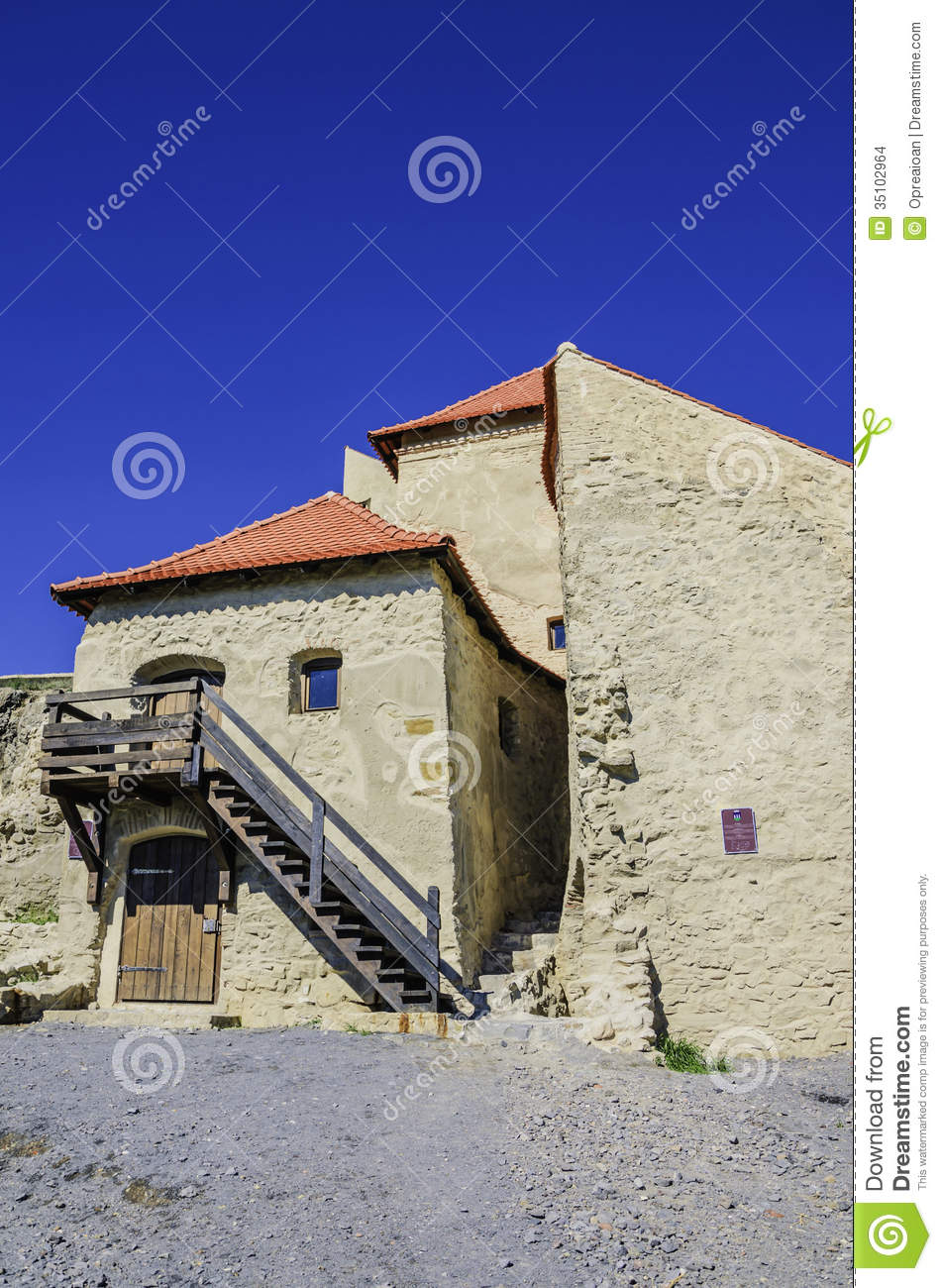 Rupea fortress transylvania romania stock images image for Fortress house