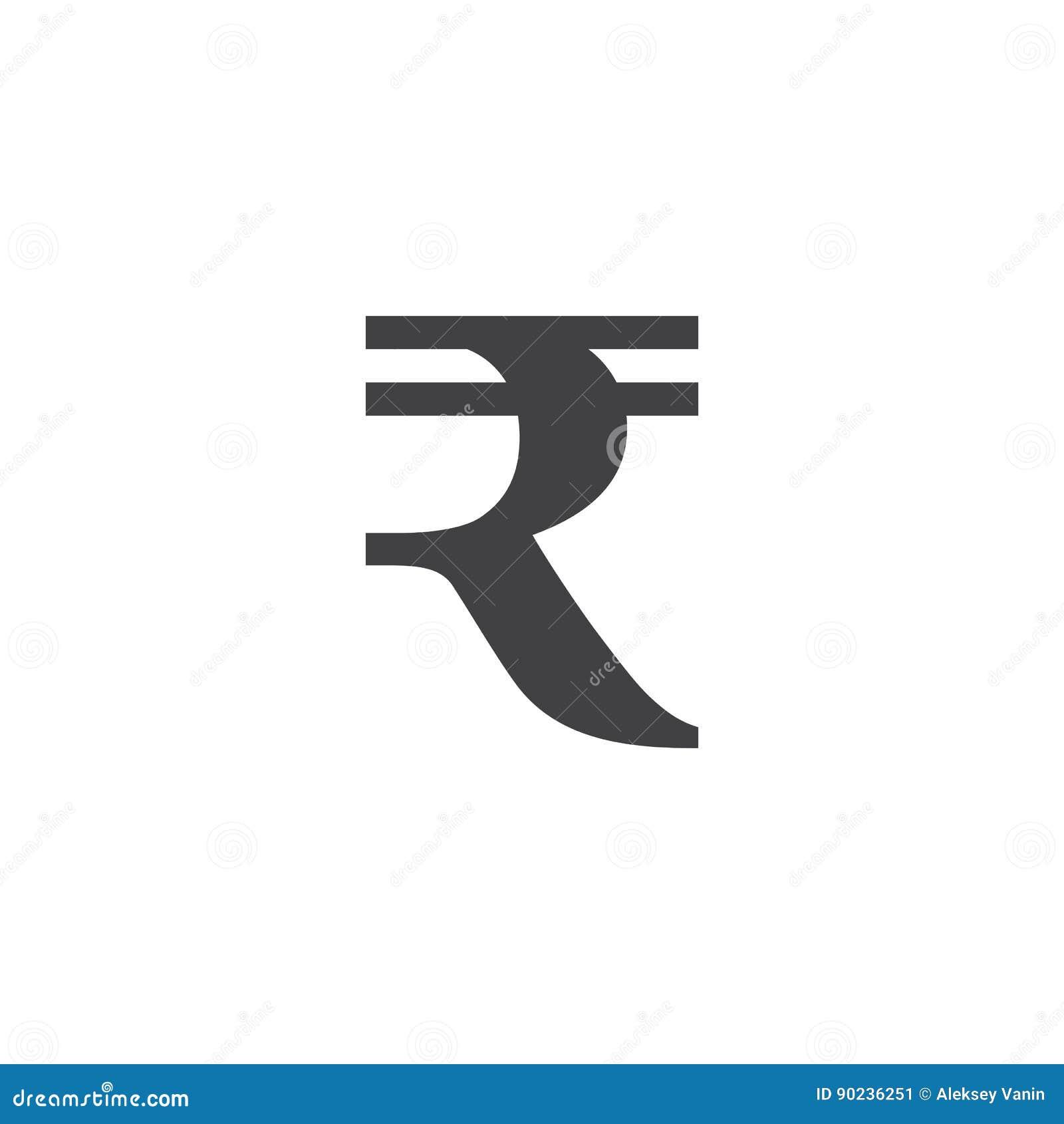Rupee symbol sign solid logo illustration pictogram is stock rupee symbol sign solid logo illustration pictogram is biocorpaavc