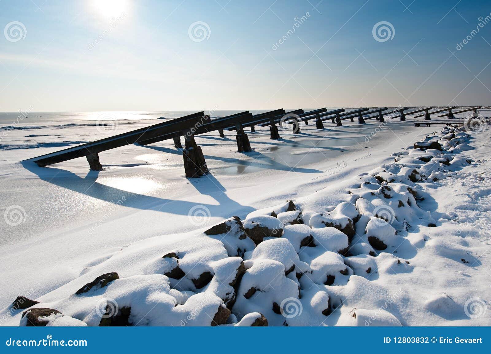 Rupteurs de glace en hiver