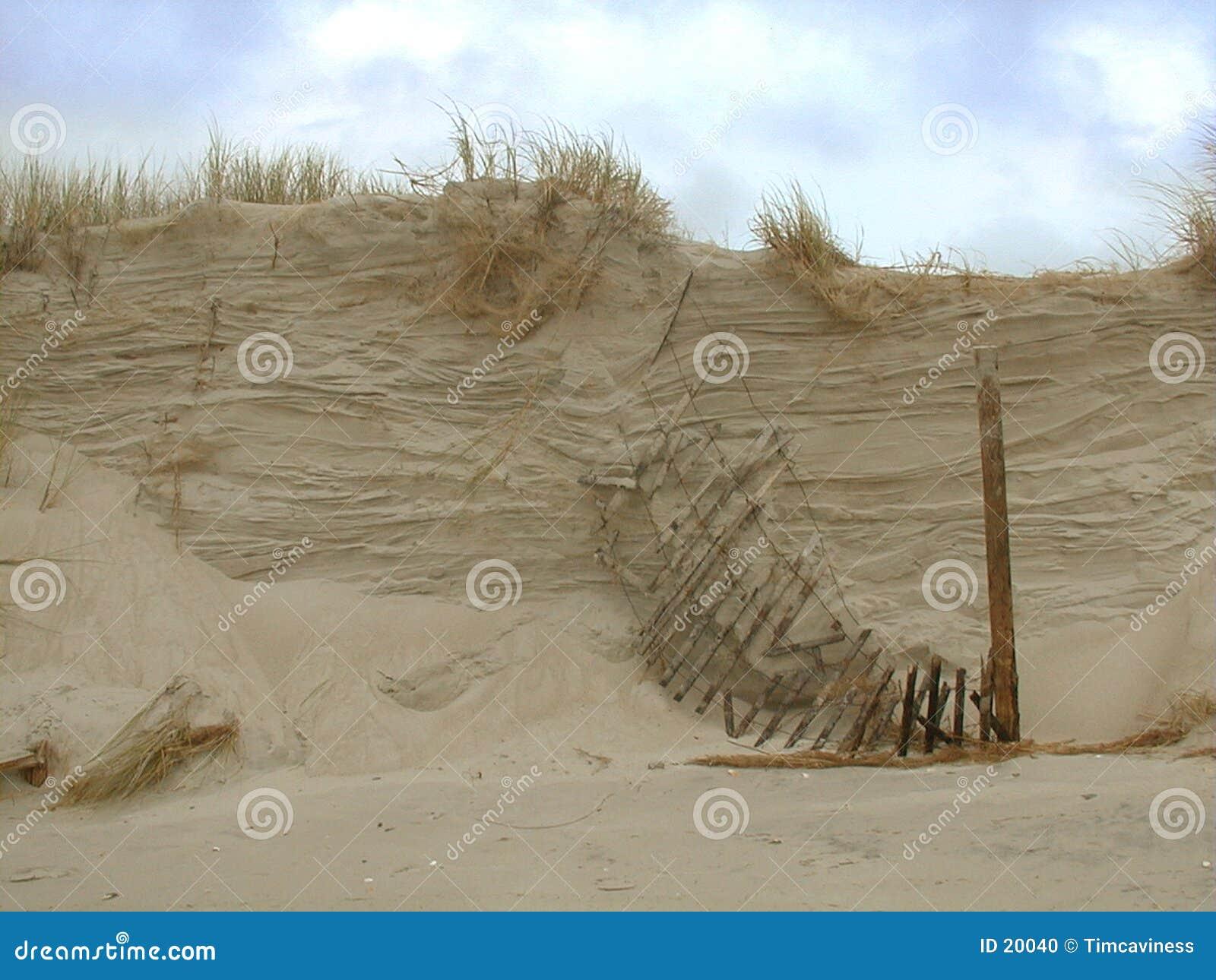 Rupture de la dune