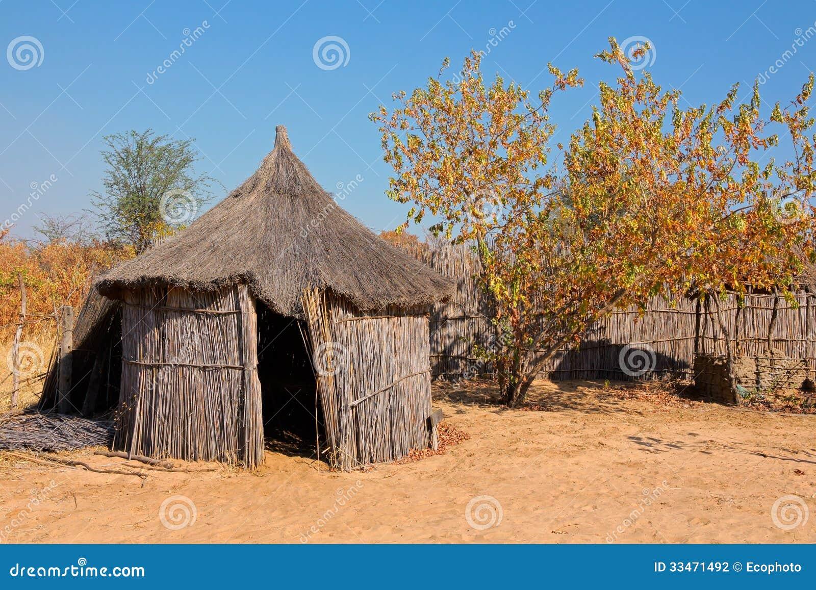 Rural african hut stock photography image 33471492 for Pianeta casa