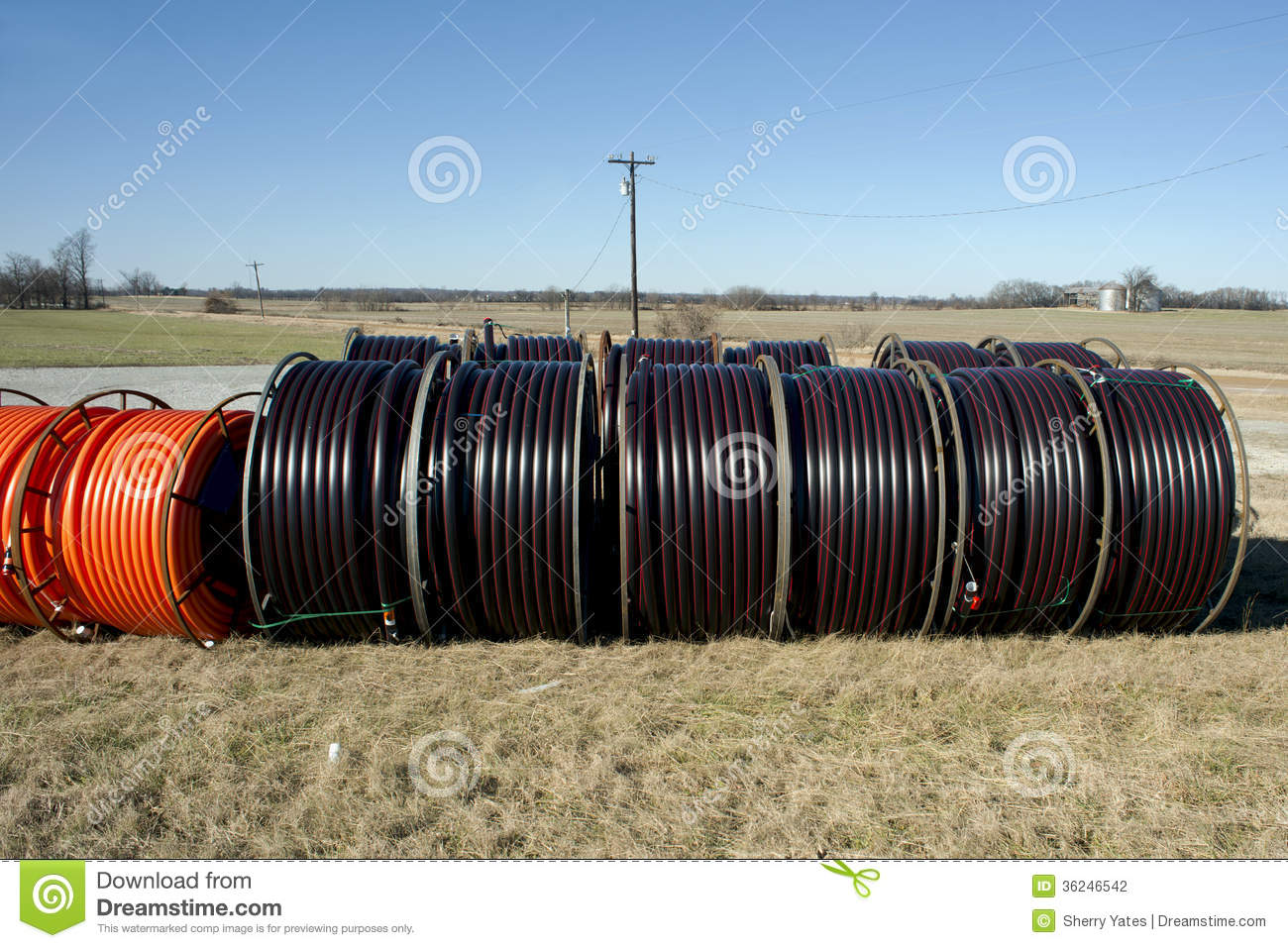 Fiber Optic Cables Single Mode Lc Isolated Royalty Free