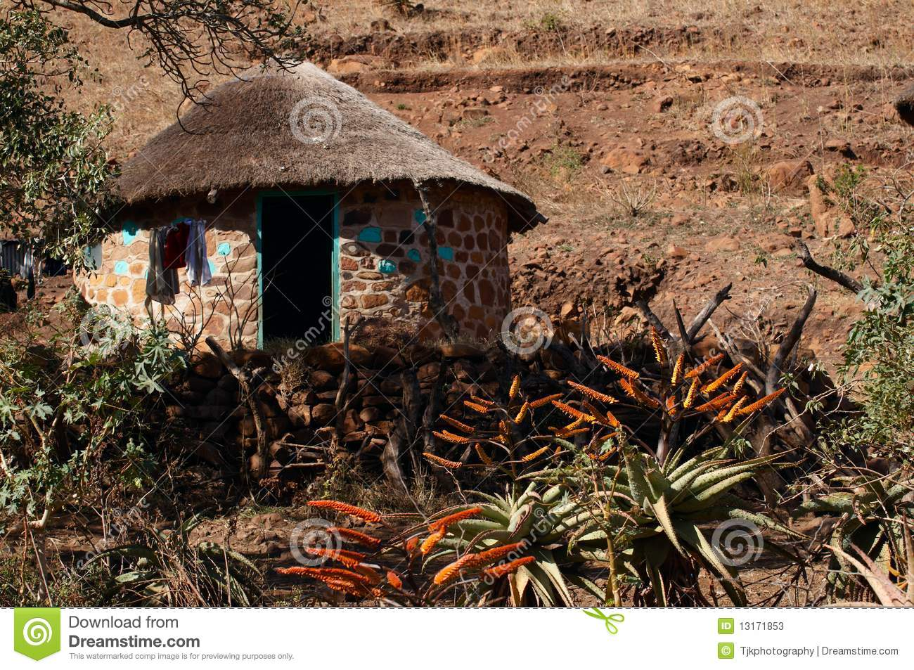 Rural Home In South Africa Stock Photos Image 13171853