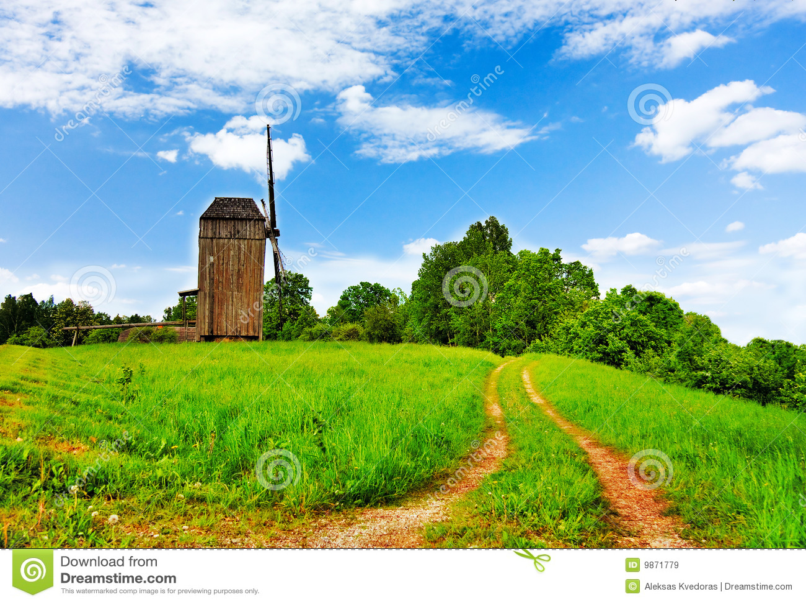 Rural Landscape Royalty Free Stock Images - Image: 9871779