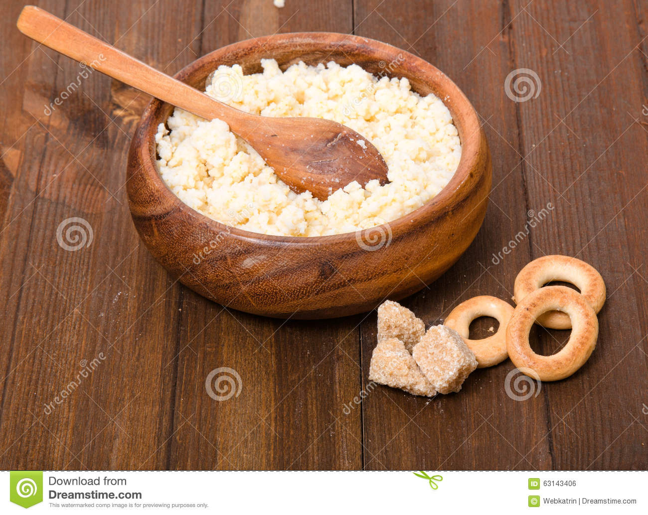 Rural Meal From Millet Cereal In A Wooden Bowl Steering Wheels Stock Photo Image Of Healthy Wheel 63143406