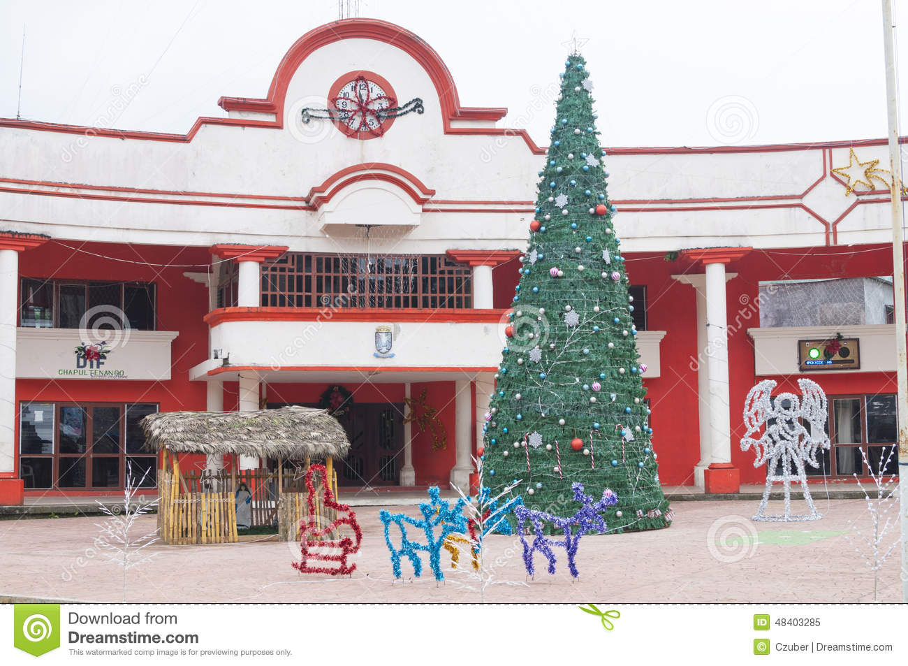 Rural Mexico Christmas Editorial Image Image Of Scene 48403285