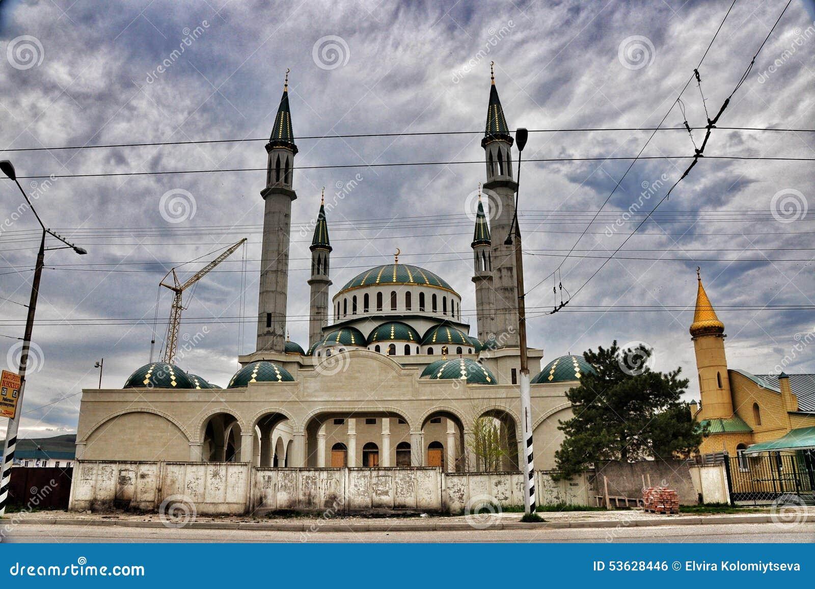 Rural Mosque Stock Photo Image Of Doctrine Mosque Krasnodar 53628446
