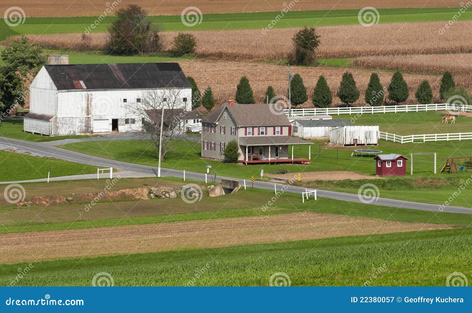 Rural Pennsylvania Farm