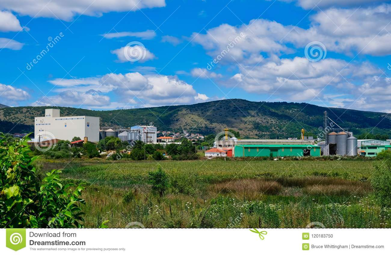 Rural Produce Processing Plant, Albania