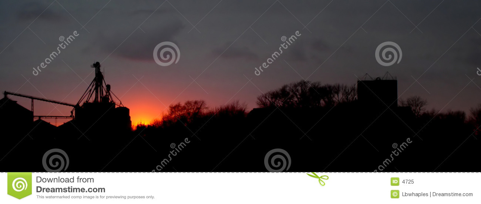 Rural słońca