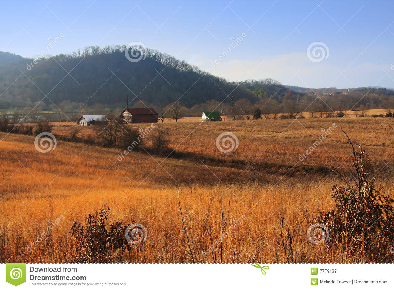 Rural Tennessee Farm Royalty Free Stock Images - Image ...
