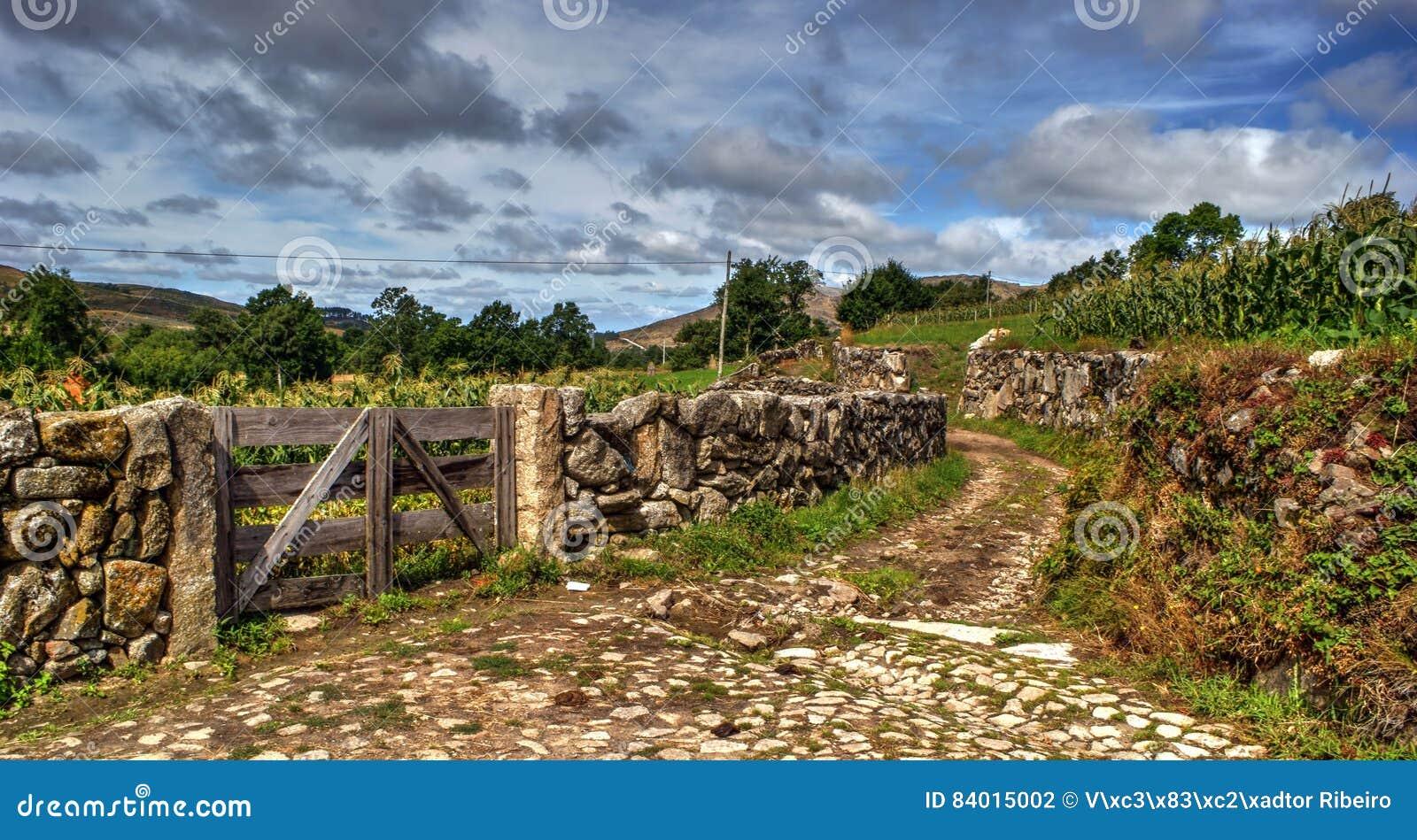 Rural village of Lamas de Olo in Vila Real