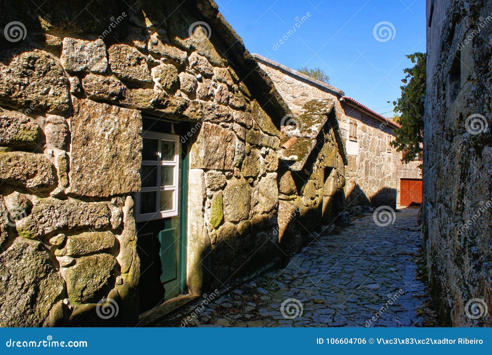 Rural village in National Park of Peneda Geres