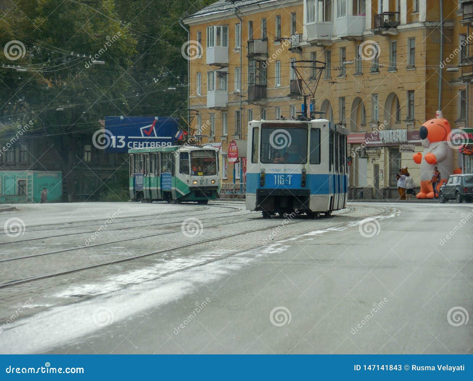 Rusland Chelyabinsk Ural Miass, Zlatoust, Chebarkul