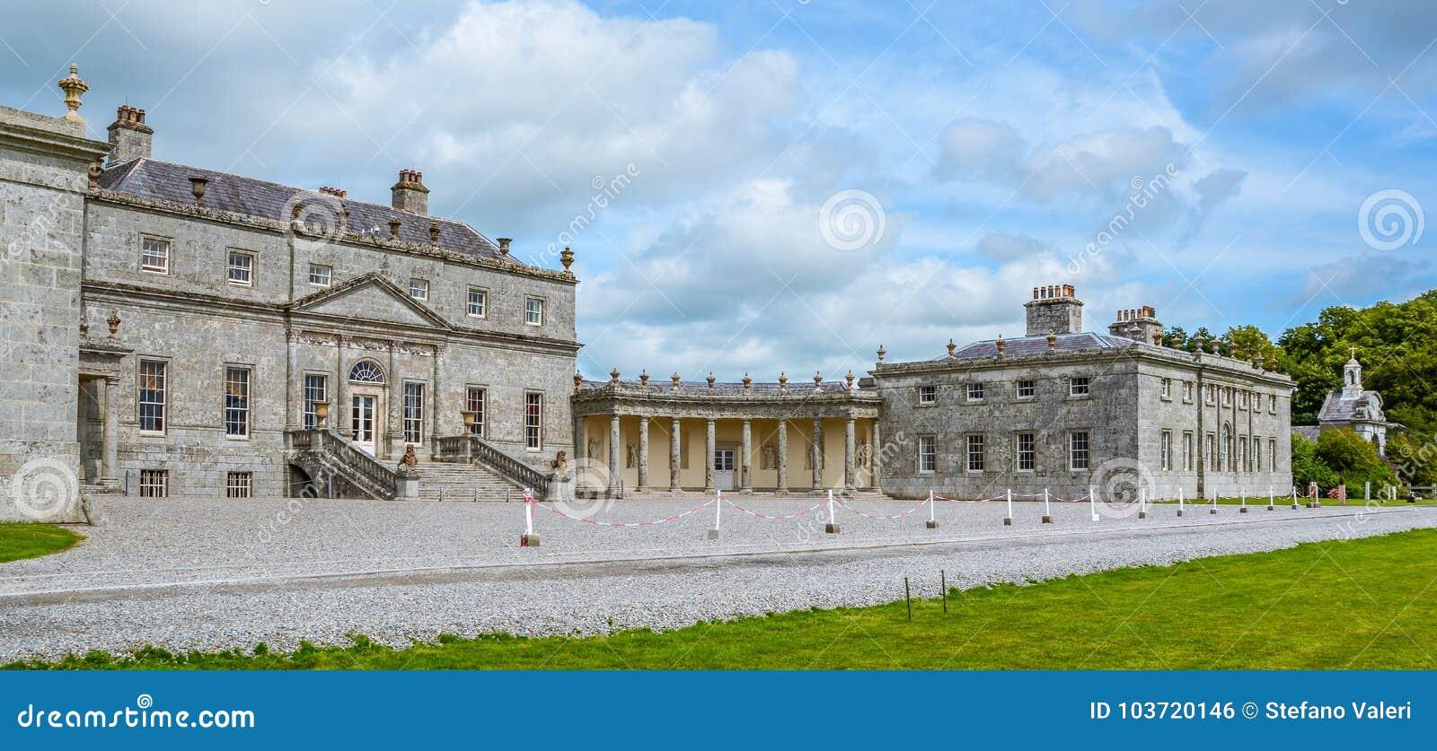 Russborough dom, okręg administracyjny Wicklow, Irlandia