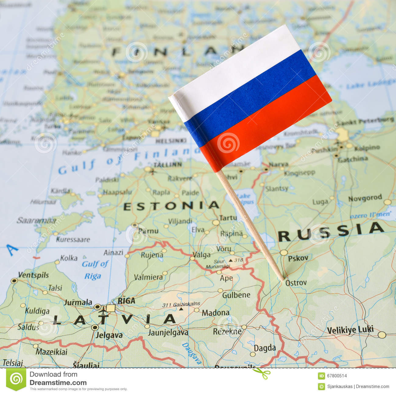 Russia Map Stock Photos - Royalty Free Stock Images