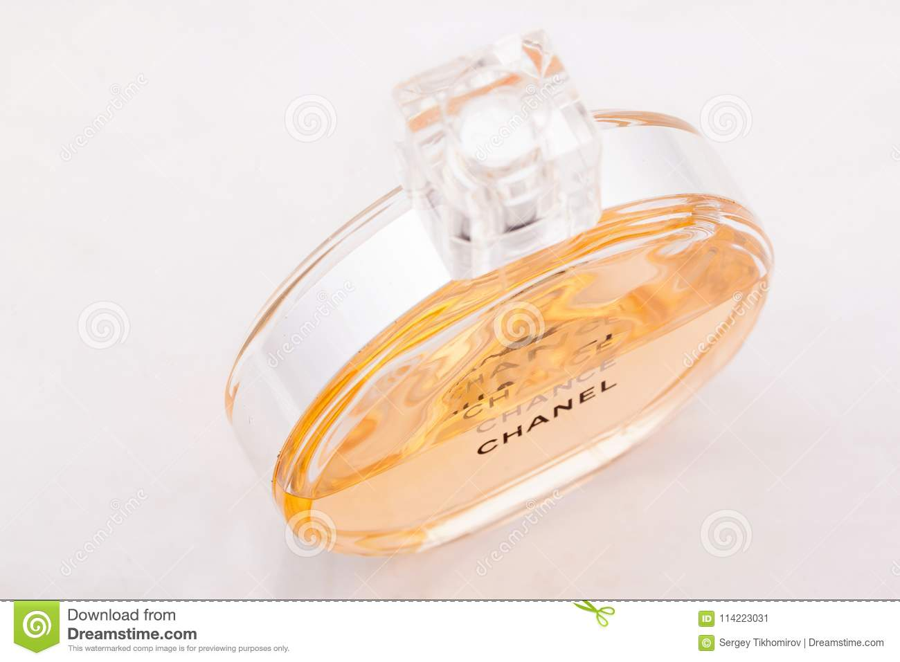 Russia Izhevsk June 13 2017 Chanel Chance Refinement Perfume