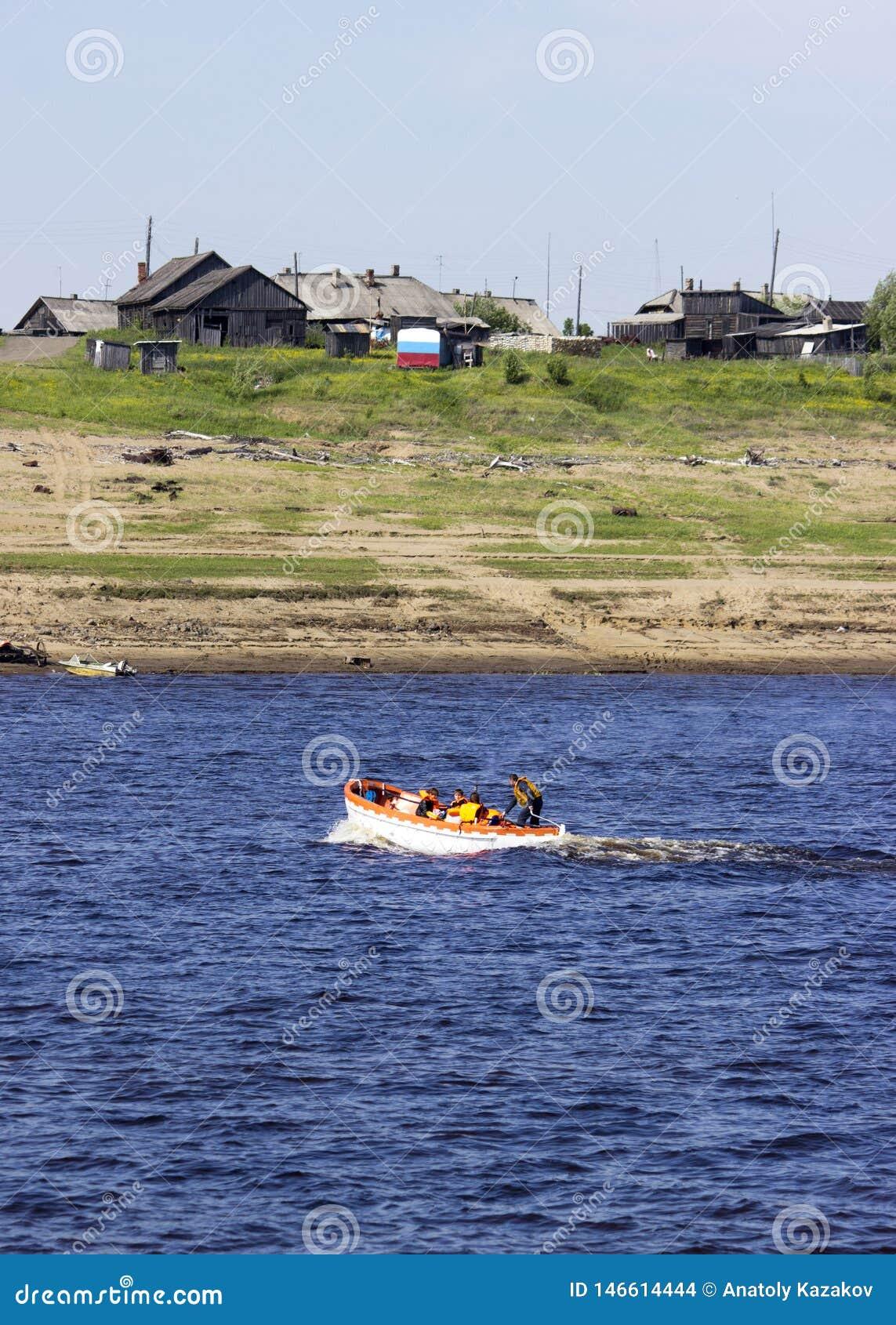 transportation of passengers on a life raft