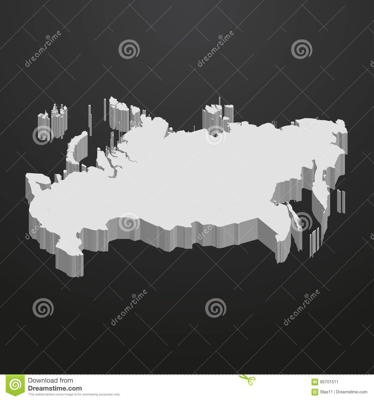 Russia Map In Gray On A Black Background 3d Stock Vector ... on blank map of russia and ukraine, blank outline map russia, fill in maps of russia, large blank map of russia, blagoveshchensk russia, blank map of russia and the republics, kuril islands on map of russia, printable map russia, blank russian map, physical features of russia, google maps russia, outline of russia, blank political map of russia, blank map of western russia, blank physical map of russia, blackline map of russia, how close is alaska to russia, new siberian islands russia, blank russia map with rivers, blank map of russia and neighboring countries,