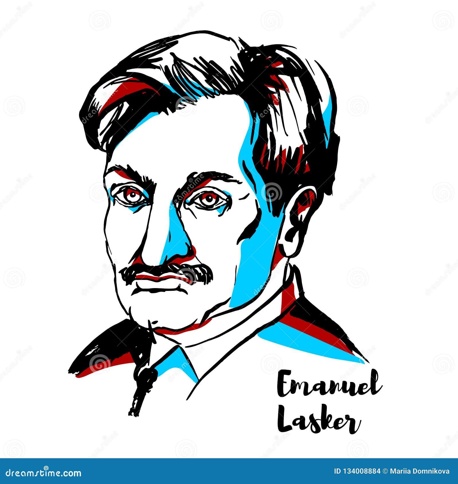 Emanuel Lasker Portrait