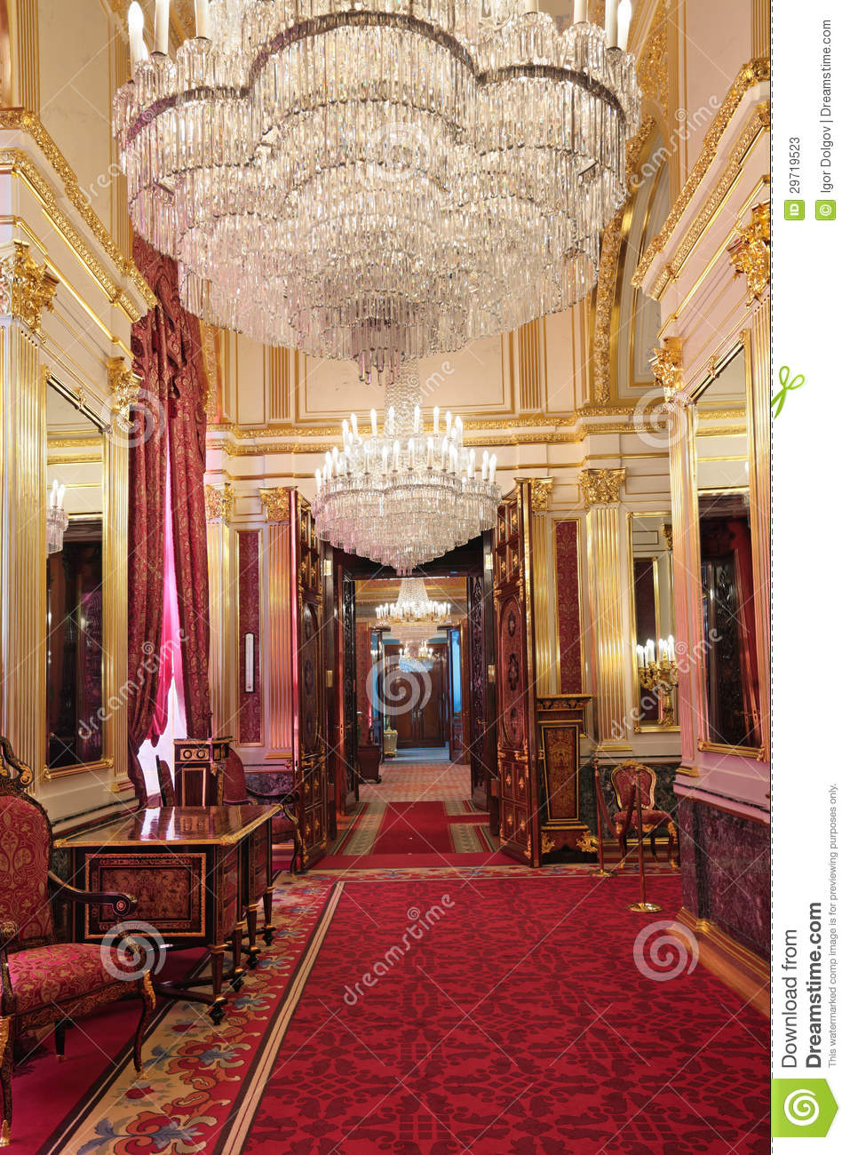 The Luxurious Royal Suite Stock Photos Image 29719523