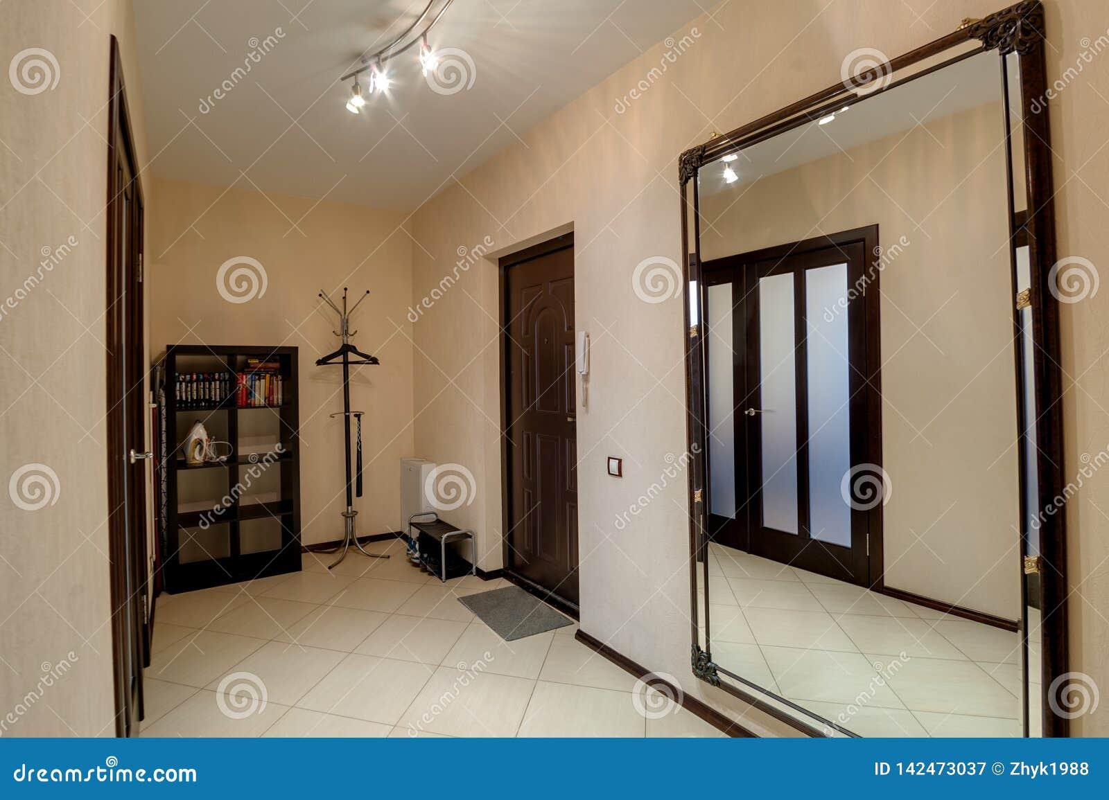 Russia, Novosibirsk - 24 February, 2016: interior room apartment