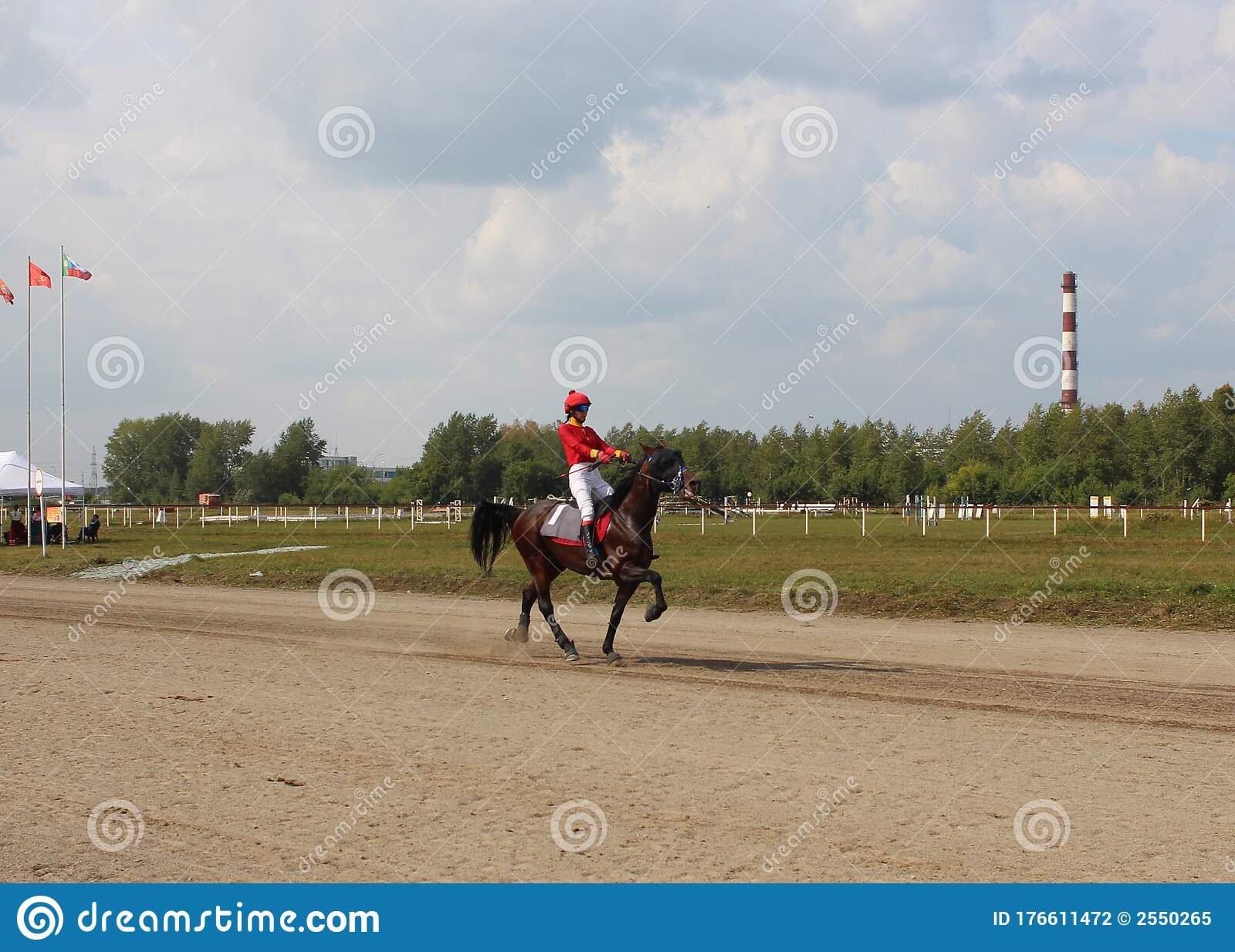 Rider Jockey Riding A Horse Jumps At Competitions Editorial Photography Image Of Competition Equine 176611472
