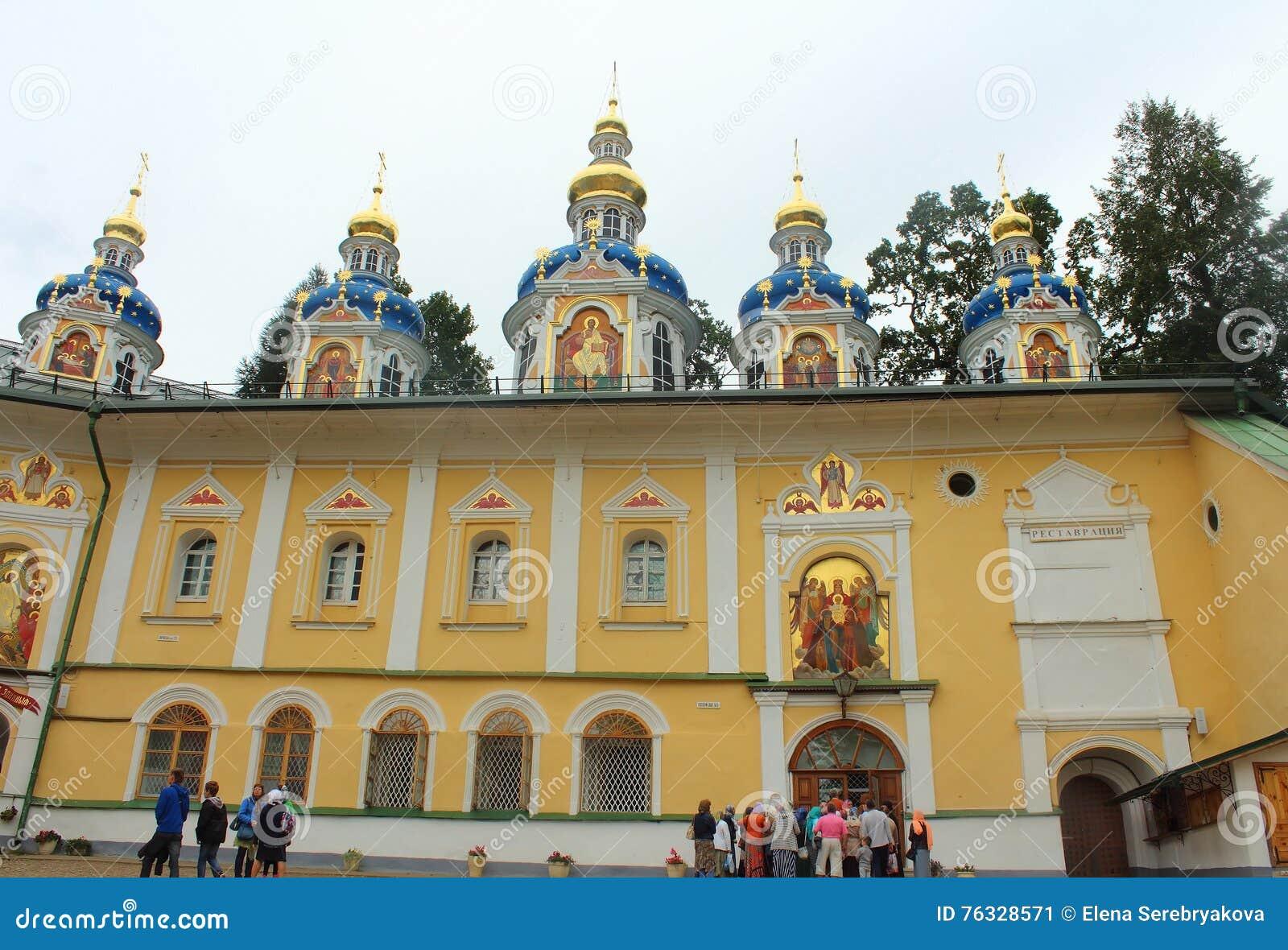 Pskovo-Pechersky Monastery: how to get there 4