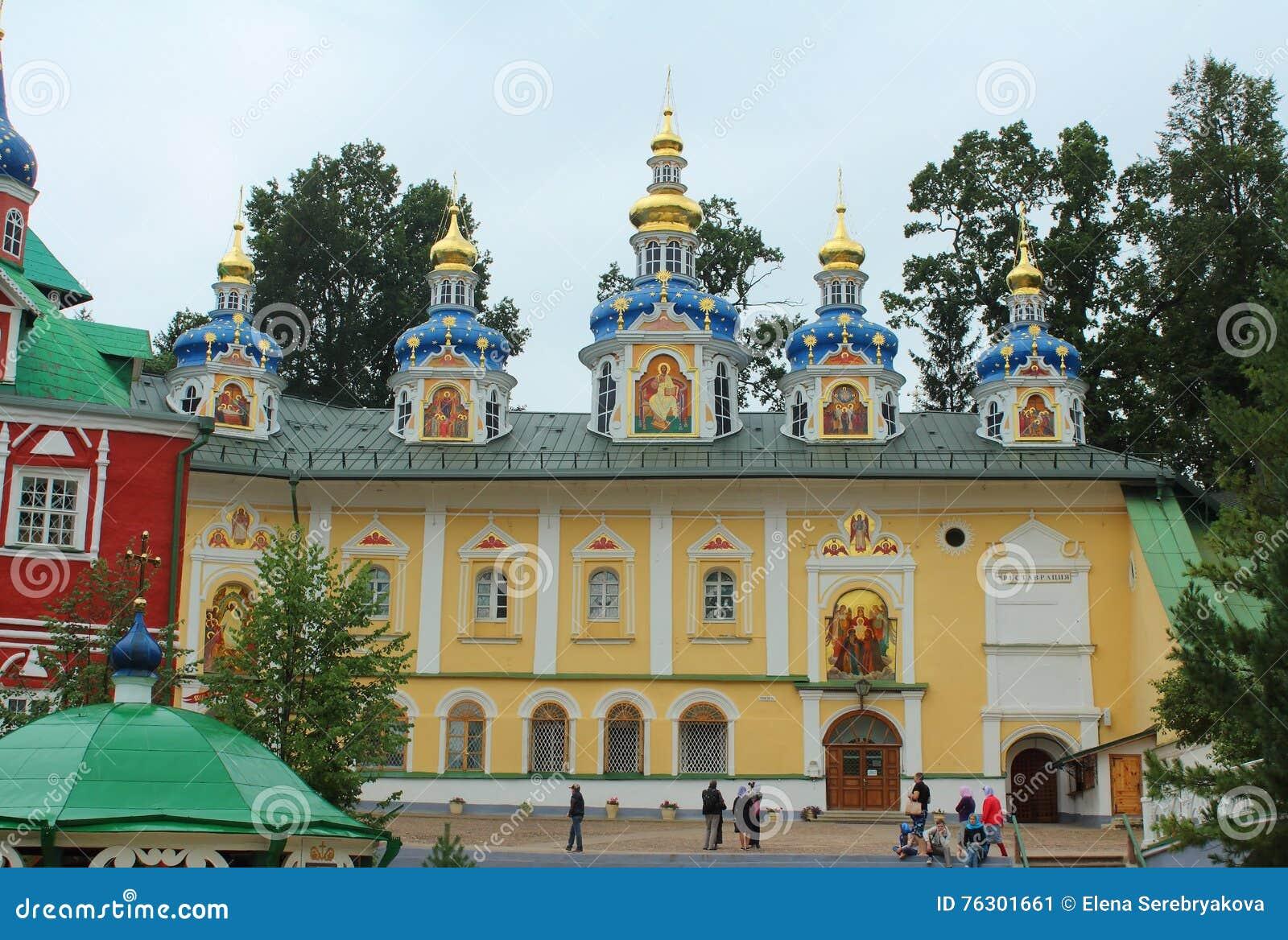 Pskovo-Pechersky Monastery: how to get there 41